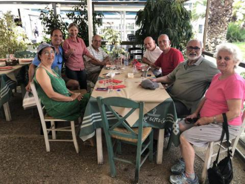 Classmates in Greece June 2018